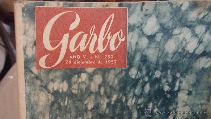 8 REVISTAS GARBO DE 1957 Y 1 DE 1963 (Coleccionismo - Revistas y Periódicos Modernos (a partir de 1.940) - Revista Garbo)