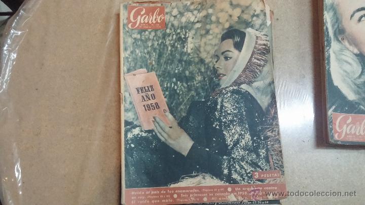 Coleccionismo de Revista Garbo: 8 revistas Garbo de 1957 y 1 de 1963 - Foto 2 - 51700594
