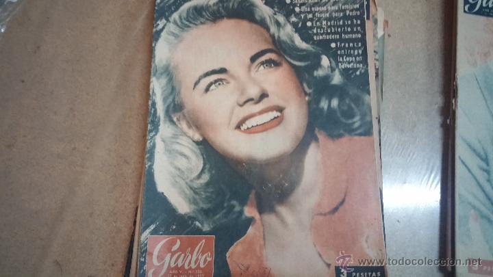 Coleccionismo de Revista Garbo: 8 revistas Garbo de 1957 y 1 de 1963 - Foto 4 - 51700594