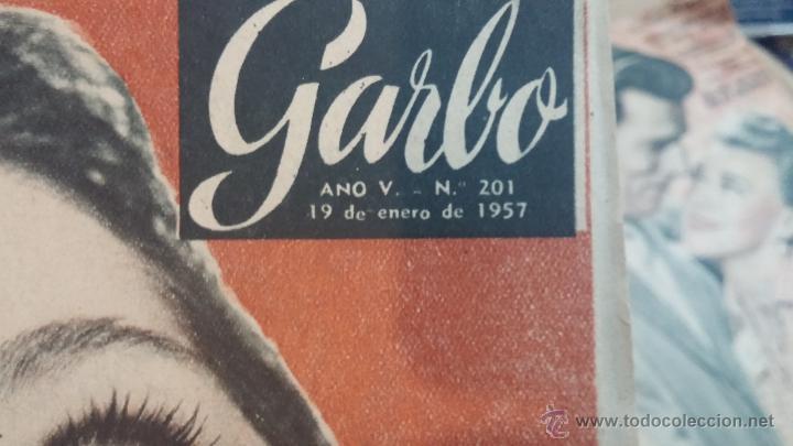 Coleccionismo de Revista Garbo: 8 revistas Garbo de 1957 y 1 de 1963 - Foto 5 - 51700594