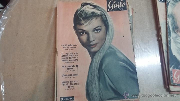 Coleccionismo de Revista Garbo: 8 revistas Garbo de 1957 y 1 de 1963 - Foto 6 - 51700594