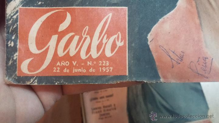 Coleccionismo de Revista Garbo: 8 revistas Garbo de 1957 y 1 de 1963 - Foto 7 - 51700594