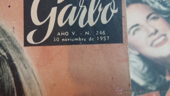 Coleccionismo de Revista Garbo: 8 revistas Garbo de 1957 y 1 de 1963 - Foto 8 - 51700594