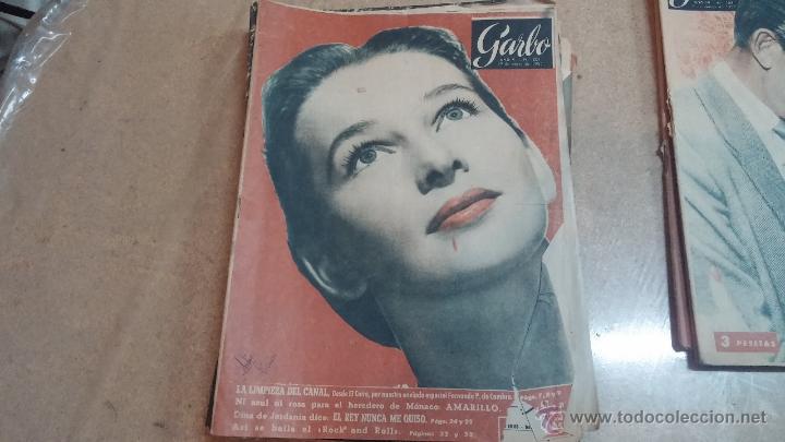 Coleccionismo de Revista Garbo: 8 revistas Garbo de 1957 y 1 de 1963 - Foto 9 - 51700594