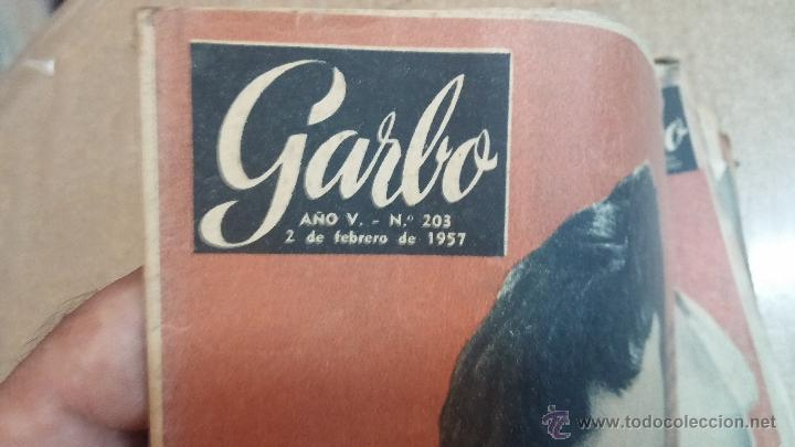 Coleccionismo de Revista Garbo: 8 revistas Garbo de 1957 y 1 de 1963 - Foto 10 - 51700594