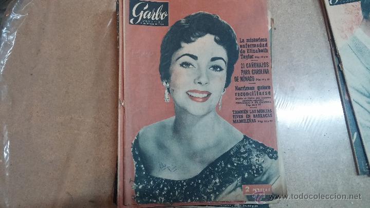 Coleccionismo de Revista Garbo: 8 revistas Garbo de 1957 y 1 de 1963 - Foto 12 - 51700594