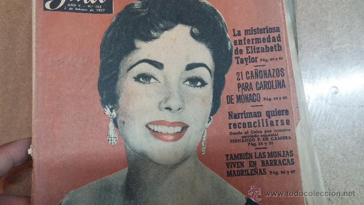 Coleccionismo de Revista Garbo: 8 revistas Garbo de 1957 y 1 de 1963 - Foto 13 - 51700594