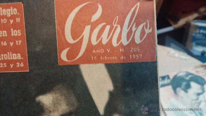 Coleccionismo de Revista Garbo: 8 revistas Garbo de 1957 y 1 de 1963 - Foto 14 - 51700594