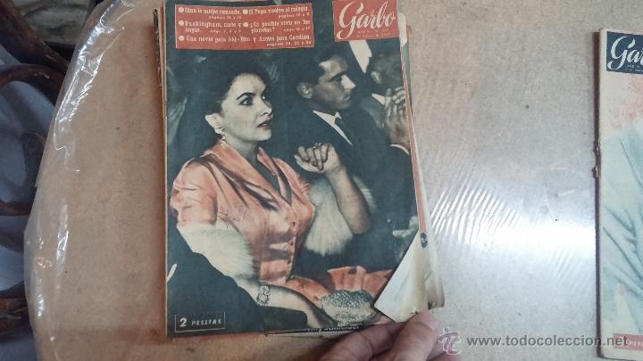 Coleccionismo de Revista Garbo: 8 revistas Garbo de 1957 y 1 de 1963 - Foto 15 - 51700594