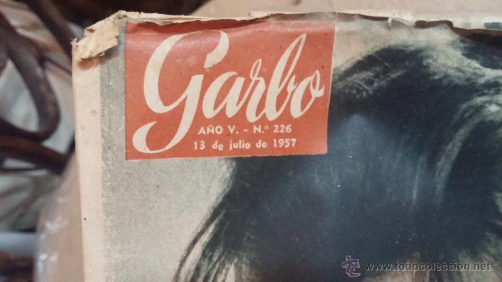 Coleccionismo de Revista Garbo: 8 revistas Garbo de 1957 y 1 de 1963 - Foto 18 - 51700594