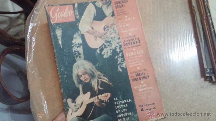 Coleccionismo de Revista Garbo: 8 revistas Garbo de 1957 y 1 de 1963 - Foto 23 - 51700594