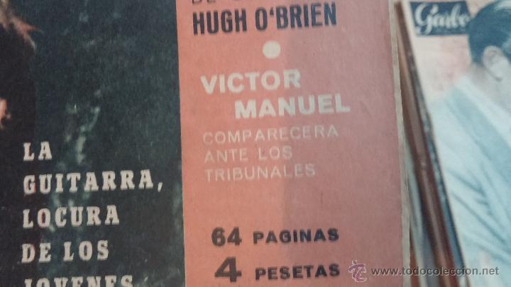 Coleccionismo de Revista Garbo: 8 revistas Garbo de 1957 y 1 de 1963 - Foto 24 - 51700594
