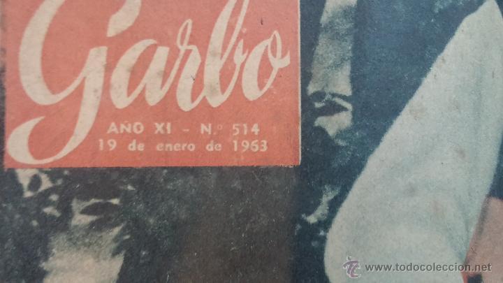 Coleccionismo de Revista Garbo: 8 revistas Garbo de 1957 y 1 de 1963 - Foto 25 - 51700594