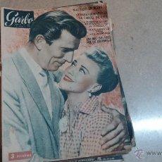 Coleccionismo de Revista Garbo: REVISTA DE 1957 CON PROPAGANDA DEL RELOJ OMEGA SEAMASTER... EL RELOJ DE LOS HOMBRES DE ACCIÓN. Lote 51762398