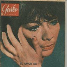 Coleccionismo de Revista Garbo: GARBO 13 DE JULIO DE 1963 Nº 539 - PORTADA JULIETTE GRECO. POR UN JOVENCITO ESCANDALIZA PARÍS. Lote 51783393