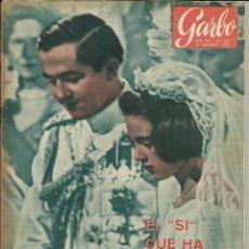 Coleccionismo de Revista Garbo: GARBO 26 DE SEPTIEMBRE DE 1964. AÑO XII. Nº 602 - PORTADA BODA CONSTANTINO Y ANA MARIA DE GRECIA. Lote 51783616
