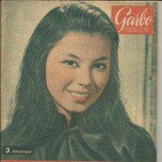 Coleccionismo de Revista Garbo: GARBO 12 DE SEPTIEMBRE DE 1959 Nº 339. AÑO VII - PORTADA FRANCE NUYEN. Lote 51799241