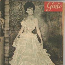 Coleccionismo de Revista Garbo: GARBO 13 DE JUNIO DE 1953 Nº 14 . AÑO I- PORTADA ELIZABETH TAYLOR. Lote 51812045
