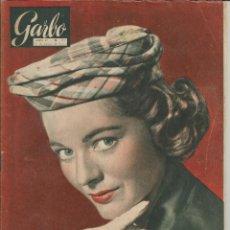 Coleccionismo de Revista Garbo: GARBO 16 DE ENERO DE 1954 Nº 44 - PORTADA JOAN WELDON. Lote 51813007