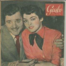 Coleccionismo de Revista Garbo: GARBO 20 DE AGOSTO 1955 Nº 127. AÑO III - PORTADA SUZAN BALL Y RICHARD LOGAN. Lote 51813445