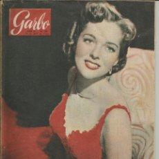 Coleccionismo de Revista Garbo: GARBO 24 DE ABRIL 1954 Nº 58. AÑO II - PORTADA JEAN WELDON. Lote 51813496