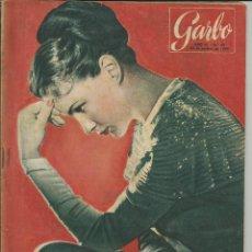 Coleccionismo de Revista Garbo: GARBO 30 DE OCTUBRE DE 1954 Nº 85. AÑO II - PORTADA ALIDA VALLI. Lote 51881749
