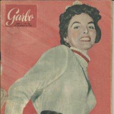 Coleccionismo de Revista Garbo: GARBO 10 DE OCTUBRE DE 1953 Nº 30. AÑO I - PORTADA CINDY WOOD. Lote 51883477