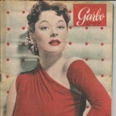 Coleccionismo de Revista Garbo: GARBO 17 DE OCTUBRE DE 1953 Nº 31. AÑO I - PORTADA RUTH ROMAN. Lote 51883932