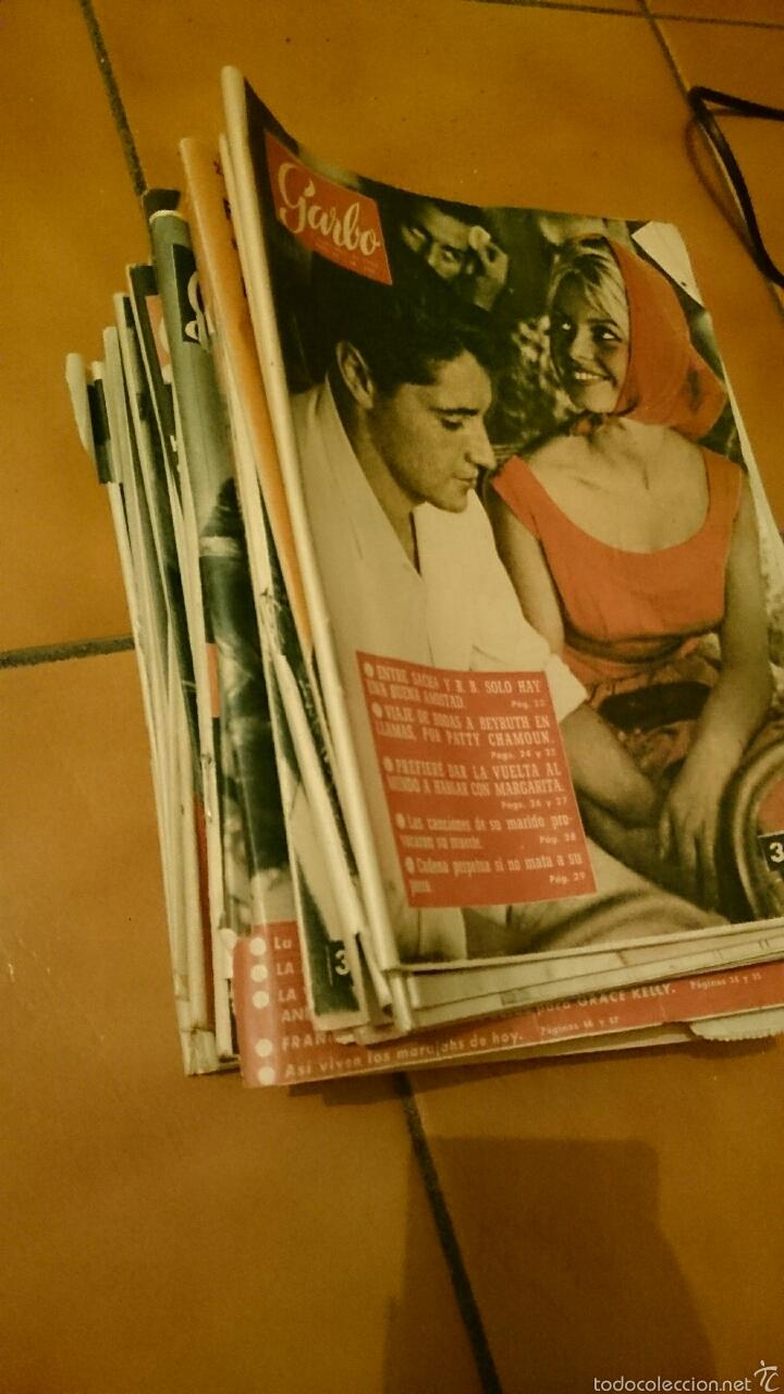 GRAN LOTE DE LA REVISTA GARBO, AÑOS 1958 , 59 Y 60. MAS DE 40 EN TOTAL. (Coleccionismo - Revistas y Periódicos Modernos (a partir de 1.940) - Revista Garbo)