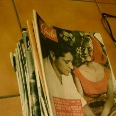 Coleccionismo de Revista Garbo: GRAN LOTE DE LA REVISTA GARBO, AÑOS 1958 , 59 Y 60. MAS DE 40 EN TOTAL.. Lote 52619456