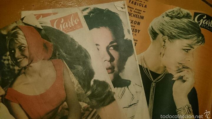 Coleccionismo de Revista Garbo: Gran lote de la revista Garbo, años 1958 , 59 y 60. Mas de 40 en total. - Foto 2 - 52619456