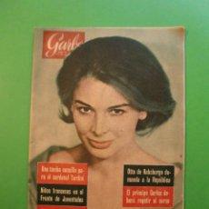Coleccionismo de Revista Garbo: Nº 439 12/8/1961 ELEONORA ROSSI DRAGO - BATISCAFO ARQUIMIDES - LARICOT PESCADOR PINTOR COCINERO . Lote 52733642