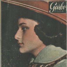 Coleccionismo de Revista Garbo: REVISTA GARBO. ENERO. 1958. Nº 251. FAZILÉ. BOBY DEGLANÉ. ALVARO DELA IGLESIA. DI STEFANO.PACO RABAL. Lote 53197059