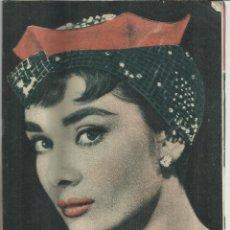 Coleccionismo de Revista Garbo: REVISTA GARBO. SEPTIEMBRE. 1954. Nº 80. AUDREY HEPBURN. PRÍNCIPE PEDRO. RAFAEL F. BONELY. Lote 53197485