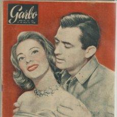 Collectionnisme de Magazine Garbo: REVISTA GARBO. ENERO. 1956. Nº 149. GREGORY PECK. PINITO DEL ORO. VERONICA PASSANI. Lote 53197618