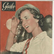 Coleccionismo de Revista Garbo: REVISTA GARBO. AGOSTO. 1954. Nº 75. REY ZOGÚ. BRUNO MERAZZI. SANTIAGO MORO ESCALONA. Lote 53197739