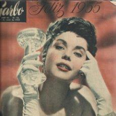 Coleccionismo de Revista Garbo: REVISTA GARBO. ENERO. 1955. Nº 94 .MARIAN CARR. AVA GADNER. HOWARD HUGGES. Lote 53197958