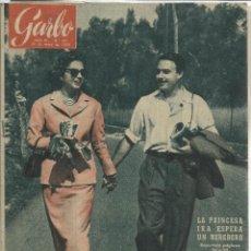 Coleccionismo de Revista Garbo: REVISTA GARBO. MAYO 1956. Nº 167.PRINCESA IRA DE FUESTENBERG. ALFONSO DE HONENLOHE. Lote 53198037