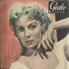 Coleccionismo de Revista Garbo: REVISTA GARBO. DICIEMBRE. 1954. RHONDA FLEMING. REINA ELISENDA DE MONTCADA. Lote 53198166