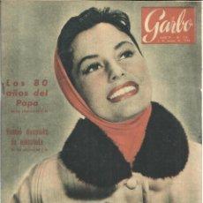 Coleccionismo de Revista Garbo: REVISTA GARBO. MARZO. 1956. Nº 155. CYD CHARISSE. DIANA DORS. MICHAEL CRAIG. . Lote 53198364