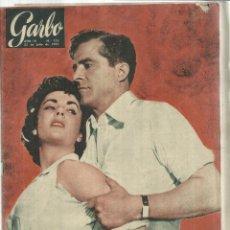 Coleccionismo de Revista Garbo: REVISTA GARBO. JULIO 1955. Nº 123.ELISABETH TAYLOR. DANA ANDREWS. REY BALDUINO. Lote 53198483