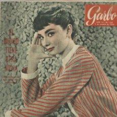 Coleccionismo de Revista Garbo: REVISTA GARBO. OCTUBRE. 1955. Nº 135. LADY AMALIA DONAL. A. QUARLES. AUDREY HEPBURN. Lote 53368589