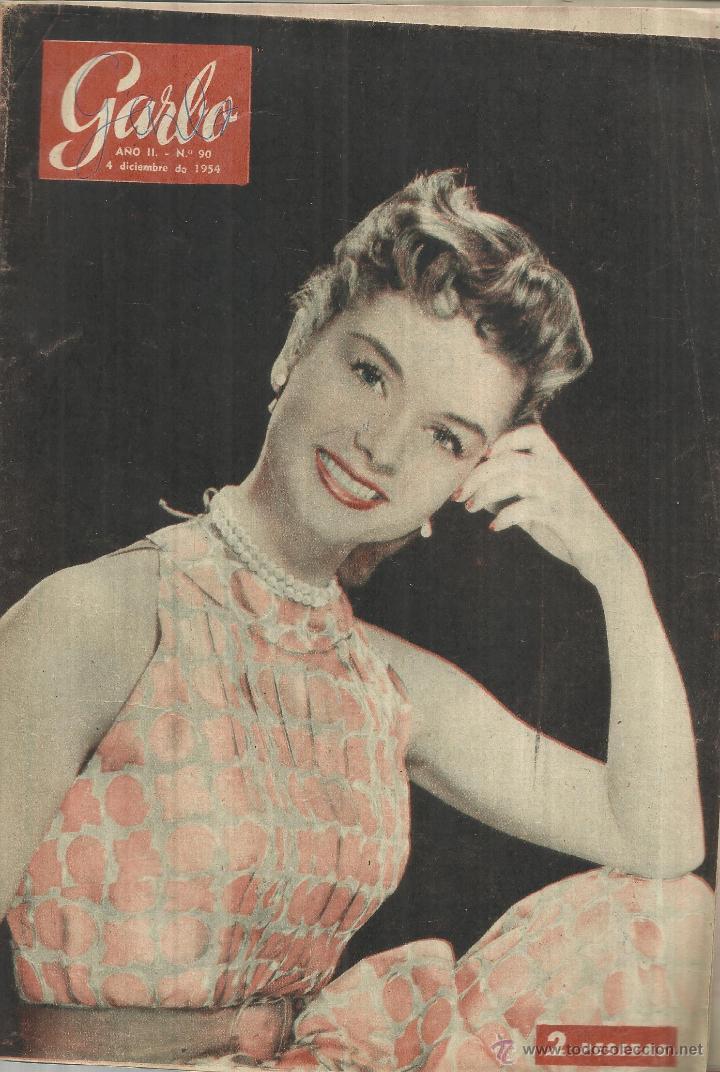 REVISTA GARBO. DICIEMBRE. 1954. DEBBIE REYNOLDS. HAROLD RUSSEL. VICENTE ESCUDERO (Coleccionismo - Revistas y Periódicos Modernos (a partir de 1.940) - Revista Garbo)