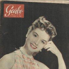 Coleccionismo de Revista Garbo: REVISTA GARBO. DICIEMBRE. 1954. DEBBIE REYNOLDS. HAROLD RUSSEL. VICENTE ESCUDERO. Lote 53369001