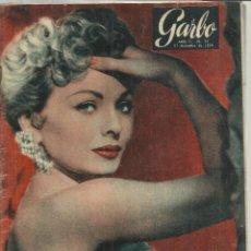 Coleccionismo de Revista Garbo: REVISTA GARBO. DICIEMBRE. 1954. Nº 91. DEBBIE REYNOLDS. HAROLD RUSSEL. VICENTE ESCUDERO. Lote 53369041