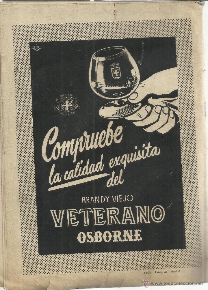 Coleccionismo de Revista Garbo: REVISTA GARBO. NOVIEMBRE. 1957. Nº 244. .CARMEN SEVILLA. CONCHITA BAUTISTA. JOSÉ NIETO. - Foto 3 - 53369699