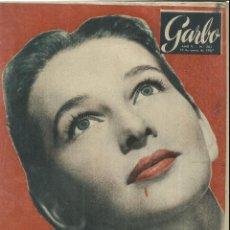 Coleccionismo de Revista Garbo: REVISTA GARBO. ENERO. 1957. Nº 201. TAINA ELG. MONIQUE LAMBERT. GARCÍA BORBÓN Y SOTERAS. Lote 53370797
