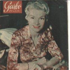 Coleccionismo de Revista Garbo: REVISTA GARBO. JULIO 1957. Nº 228. AGA KHAN. ANA Mª HESEN. ROMY SCHENEIDER. Lote 53370843