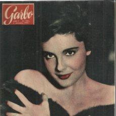 Coleccionismo de Revista Garbo: REVISTA GARBO. NOVIEMBRE. 1957. Nº 242. HARRY BELAFONTE. MARÍA CASARES. FRANCINE CAMUS. Lote 53370857