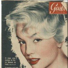 Coleccionismo de Revista Garbo: REVISTA GARBO. JUNIO. 1957. Nº 221. VÍCTOR MANUEL DE ITALIA. REY BALDUINO. EDWARD G. ROBISON. Lote 53370869
